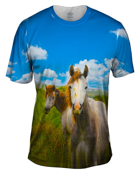 Ireland Horse Mens T-Shirt