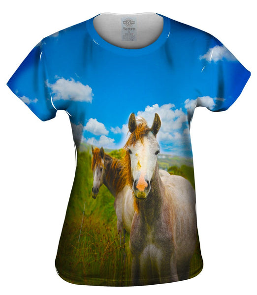 Ireland Horse Womens Top