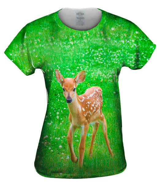 Sure Footed Young Deer Womens Top