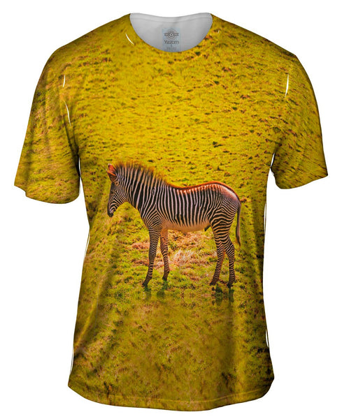 Savannah Zebra Mens T-Shirt
