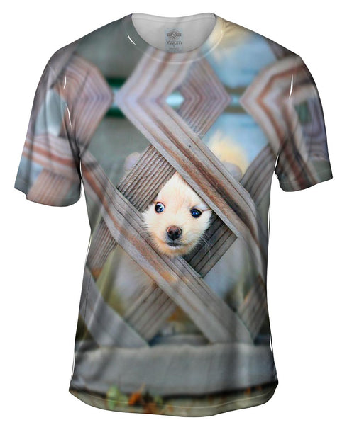 Great Pomeranian Escape Mens T-Shirt