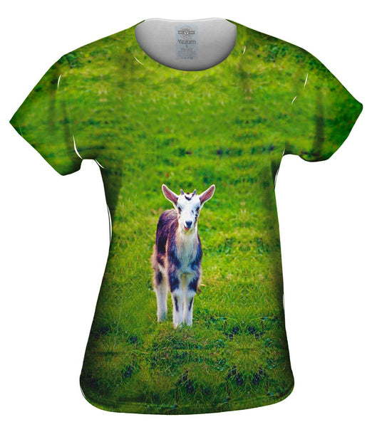 Fluffy Goat Womens Top