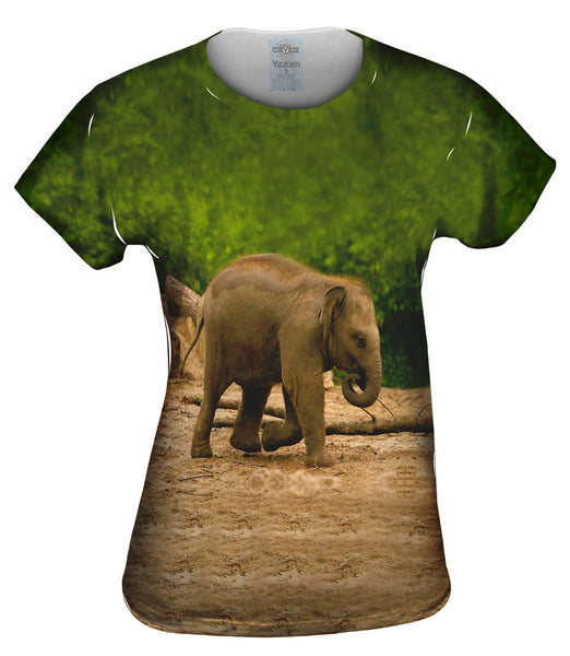 Jolly Baby Elephant Womens Top