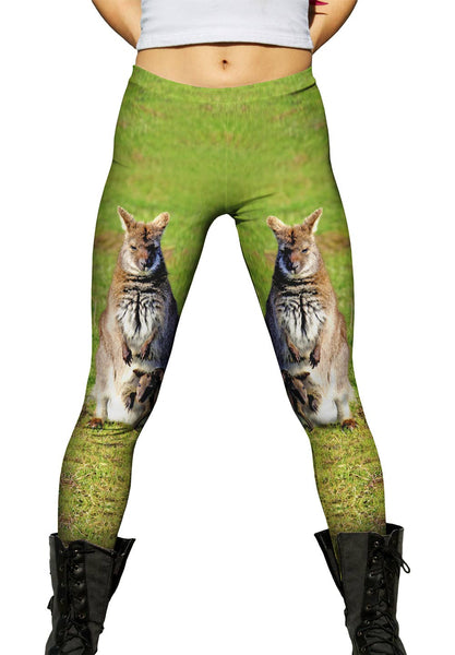 Devoted Mom Kangaroo Womens Leggings