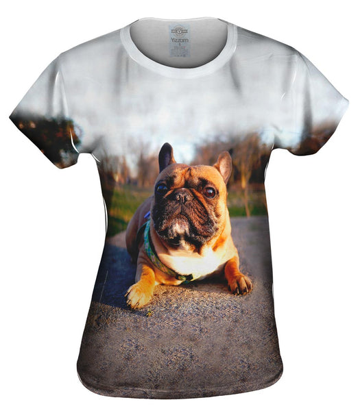 Thundering French Bulldog Womens Top