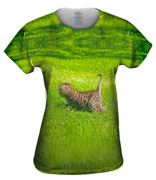 Kitty Cat Chase Womens Top