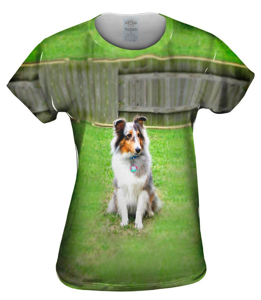 Spirited Sheltie Womens Top