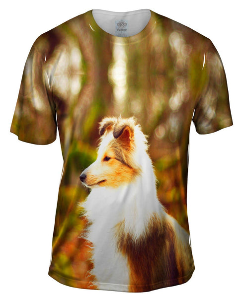 Swift Sheltie Mens T-Shirt