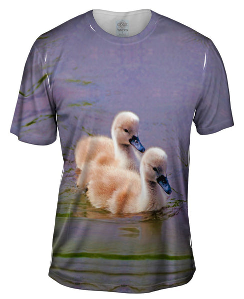 Wiggly Duckys Mens T-Shirt