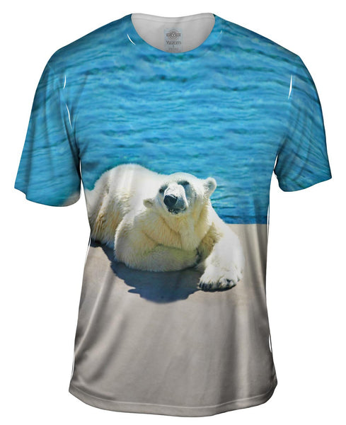 Warm Water Polar Bear Mens T-Shirt