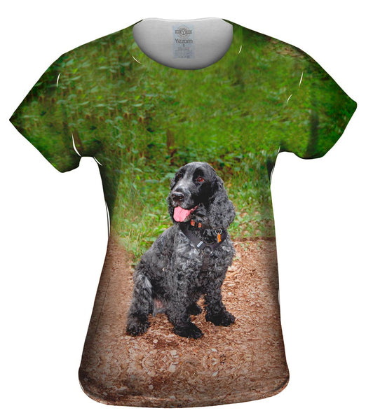 Precious Cocker Spaniel Womens Top