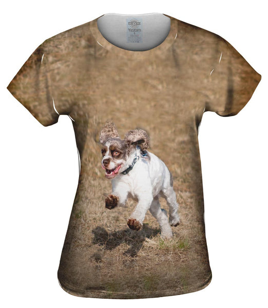 Cocker Spaniel Race Womens Top