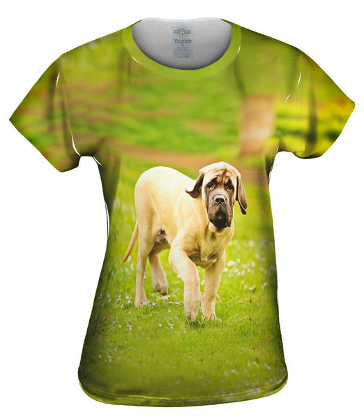 Courageous Mastiff Womens Top