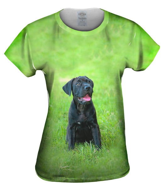 Giddy Black Mastiff Womens Top