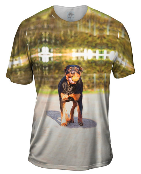 Love To Play Rottweiler Mens T-Shirt