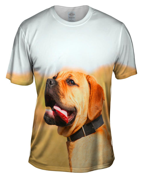 Tender Mastiff Mens T-Shirt
