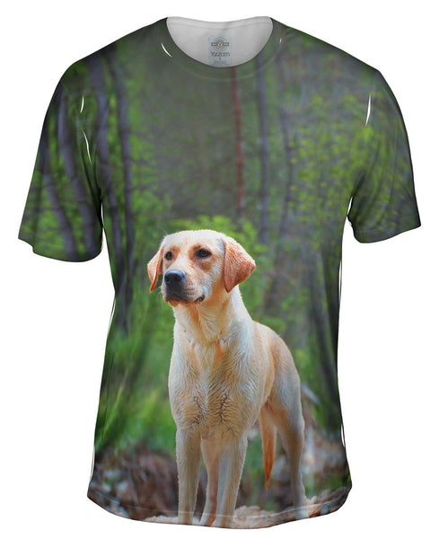 Fearless Hunter Golden Retriever Mens T-Shirt