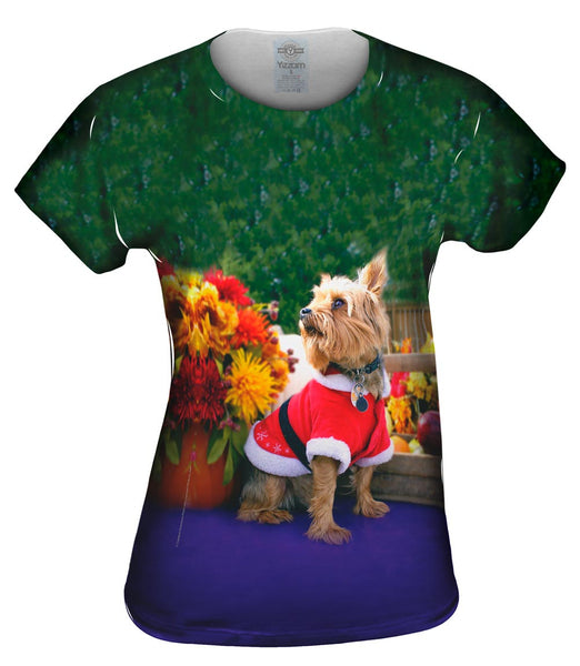What Was That Christmas Yorkie Womens Top