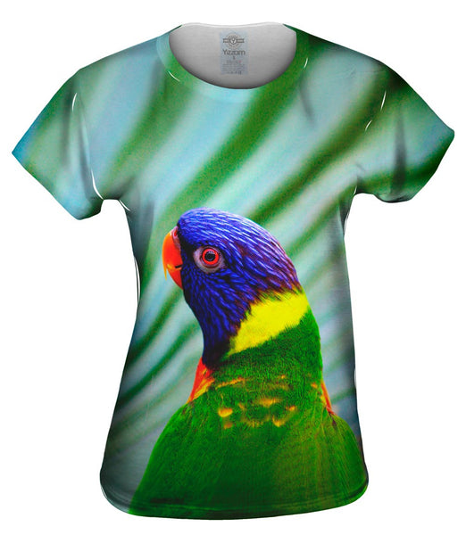 Spunky Parrot Womens Top
