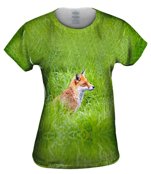 Sly Fox Watching Womens Top