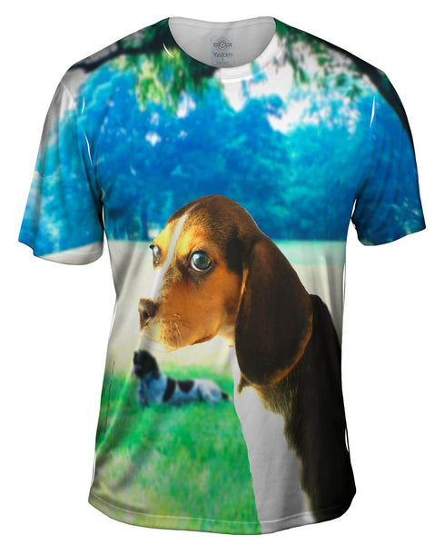 Beagle Park Relaxation Mens T-Shirt