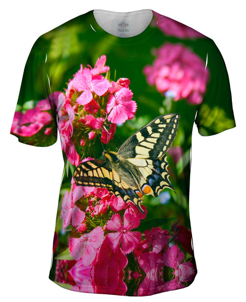 Winged Swallowtail Butterfly Mens T-Shirt