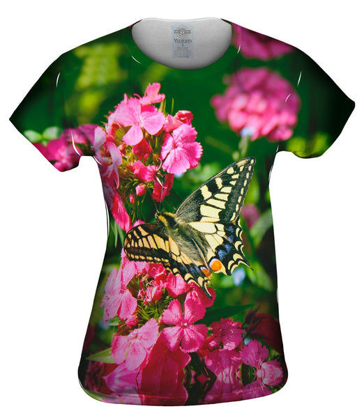 Winged Swallowtail Butterfly Womens Top