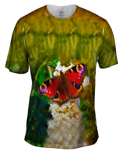 Redfurry Butterfly Mens T-Shirt
