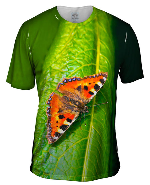 Dazzling Spotted Butterfly Mens T-Shirt