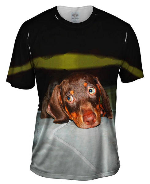 Hot Dog Dachshund Mens T-Shirt