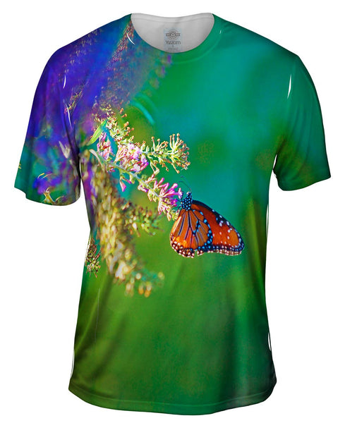 Airy Small Monarch Butterfly Mens T-Shirt
