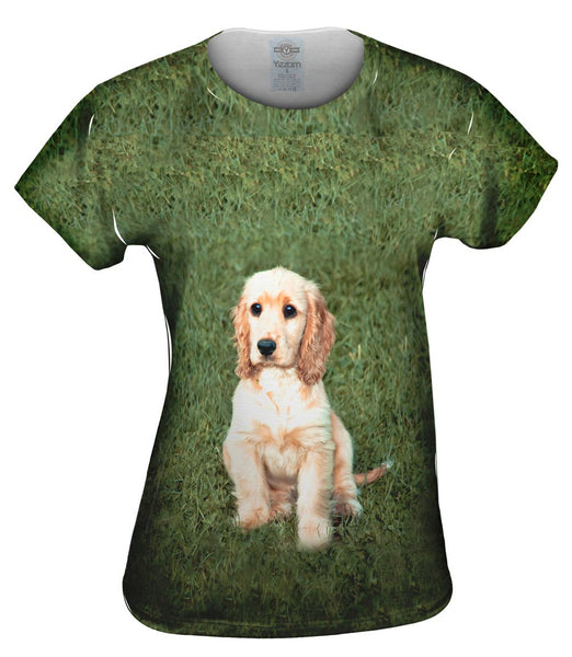 Adoreable Cocker Spaniel Womens Top
