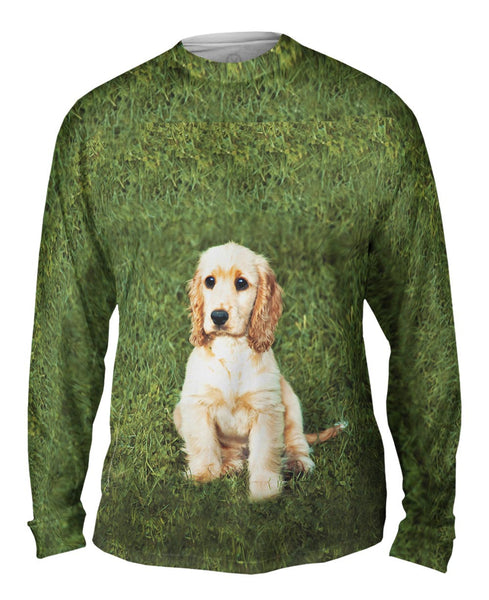 Adoreable Cocker Spaniel Mens Long Sleeve