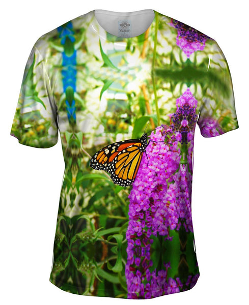 Fanciful Monarch Butterfly Mens T-Shirt
