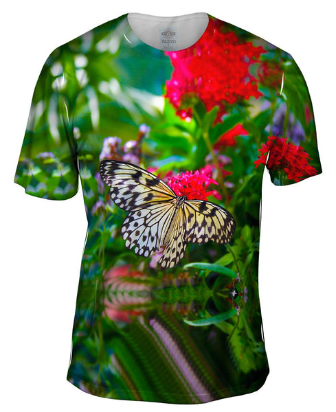 Lovely Spring Butterfly Mens T-Shirt