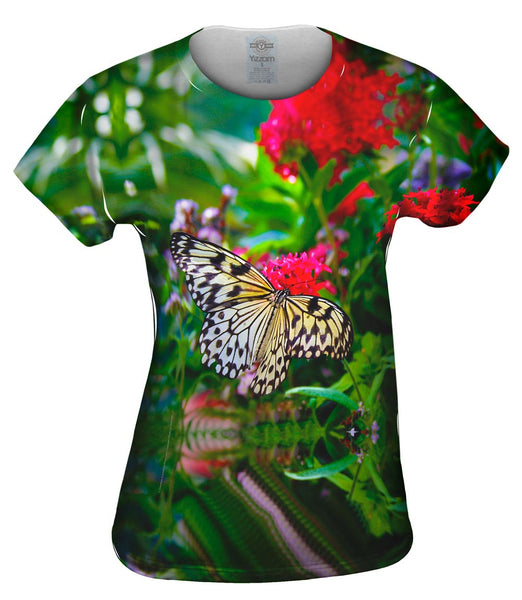 Lovely Spring Butterfly Womens Top