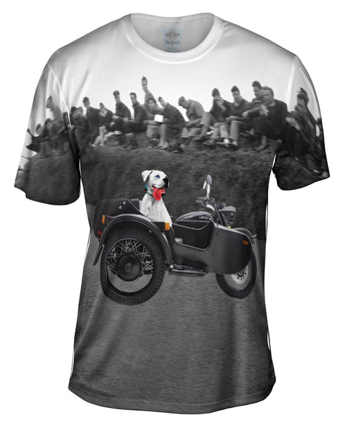 Boxer Motorcycle Adventure Mens T-Shirt