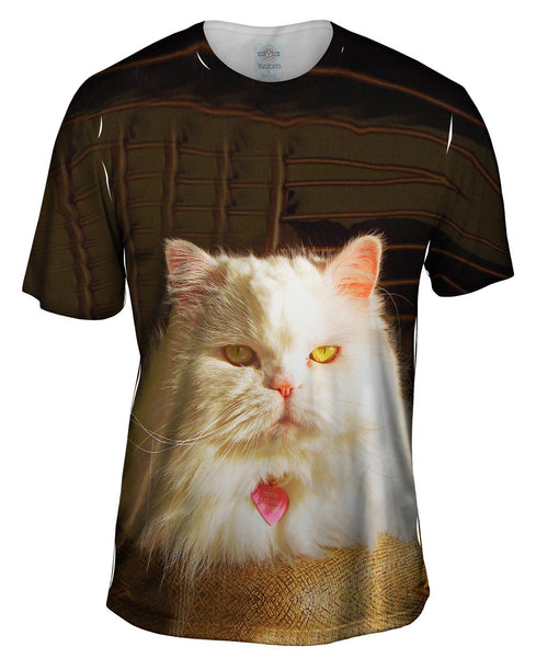 Lavish Life Cat Mens T-Shirt