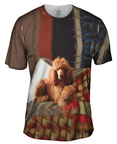 Sophisticated Poodle Mens T-Shirt