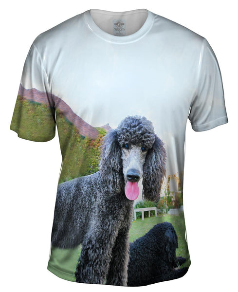 Poodle And Friend Mens T-Shirt