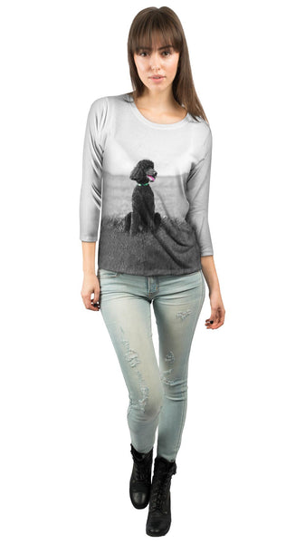 50S Poodle Womens 3/4 Sleeve