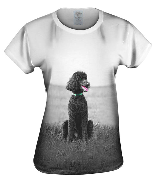 50S Poodle Womens Top