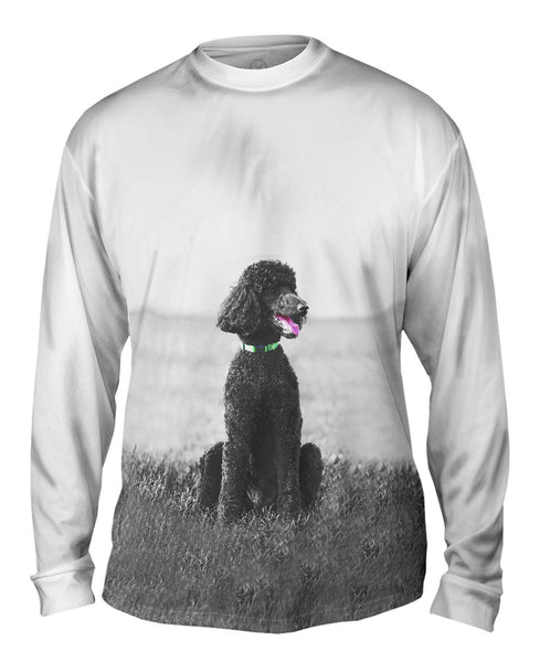 50S Poodle Mens Long Sleeve