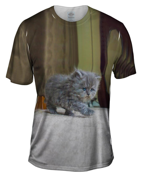Strut Kitty Cat Mens T-Shirt