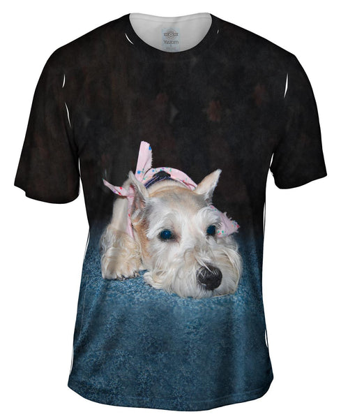 Blue Rug Schnauzer Mens T-Shirt