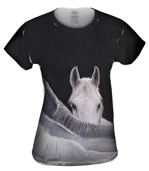 Mysterious Horse Womens Top