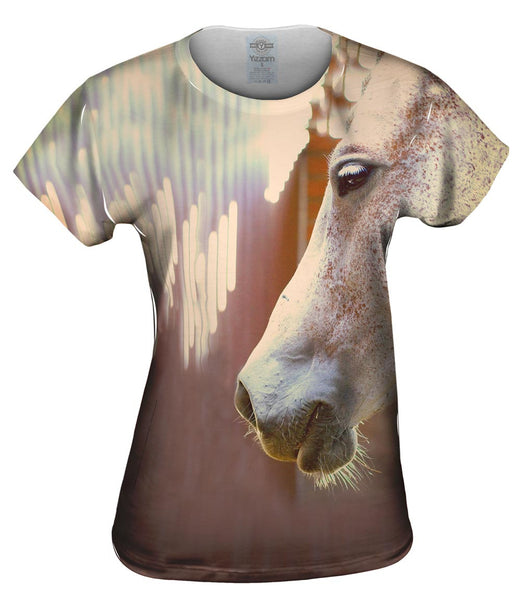 Freckle Face Horse Womens Top