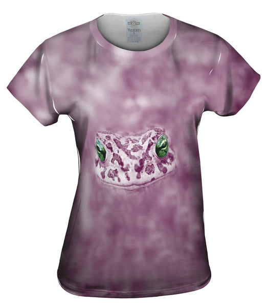 Dreamy Purple Frog Womens Top