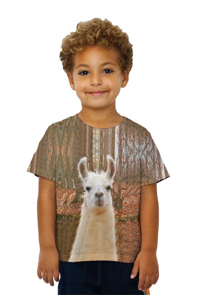 Kids Whats Your Llama Kids T-Shirt