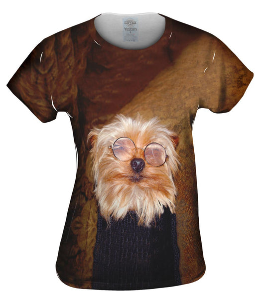 Educated Yorkie Womens Top